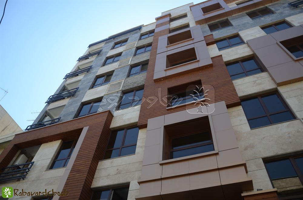 ترمووود بر روی پنجره های مربعی پروژه گیشا