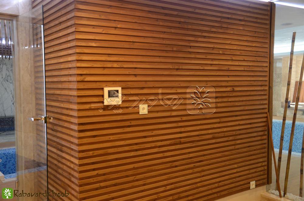 استفاده از چوب ترمو برای دیواره های استخر