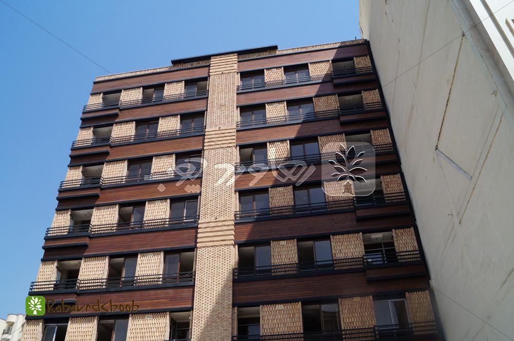 استفاده از ترموود در نمای ساختمان