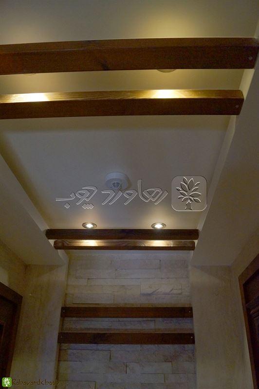 اجرای ترمووود در سقف