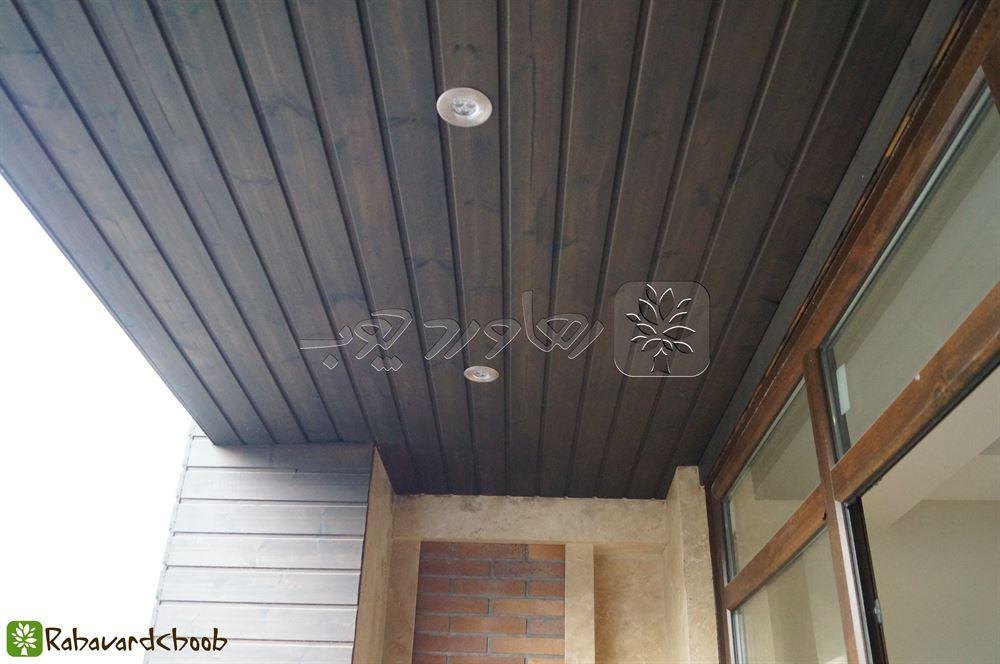 ترمووود سقف با سنگ تراورتن