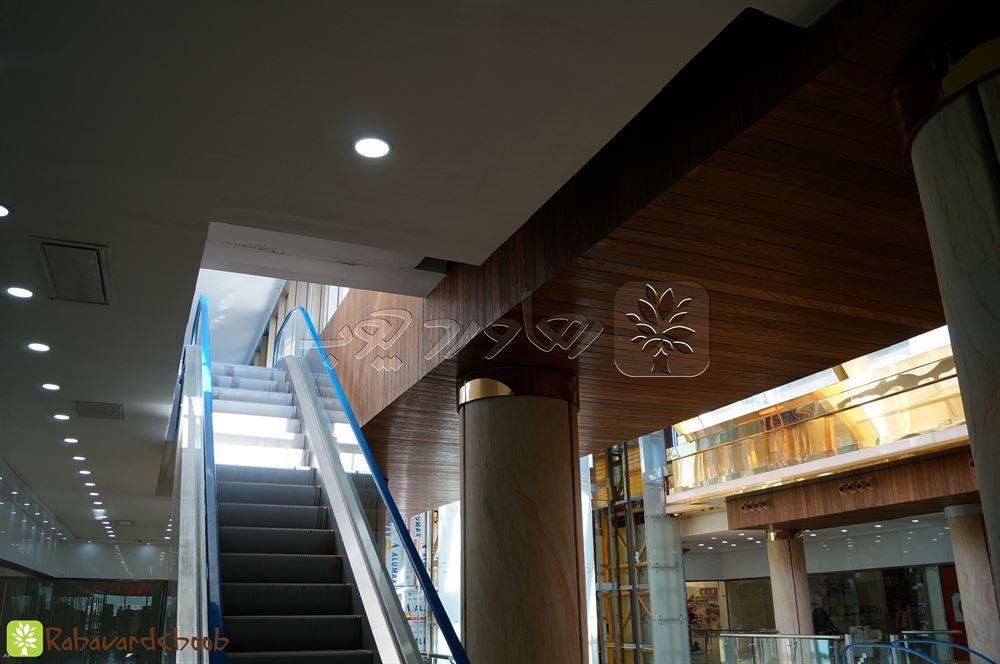 چوب ترمو کار شده در پروژه متل قو