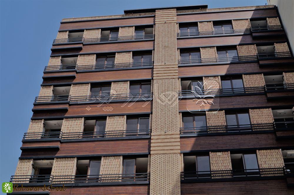 استفاده از ترموود در نمای ساختمان در ازگل