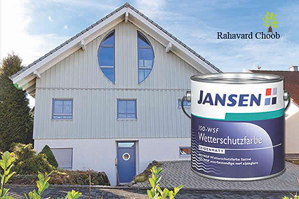رنگ پوششی مخصوص نمای ساختمان