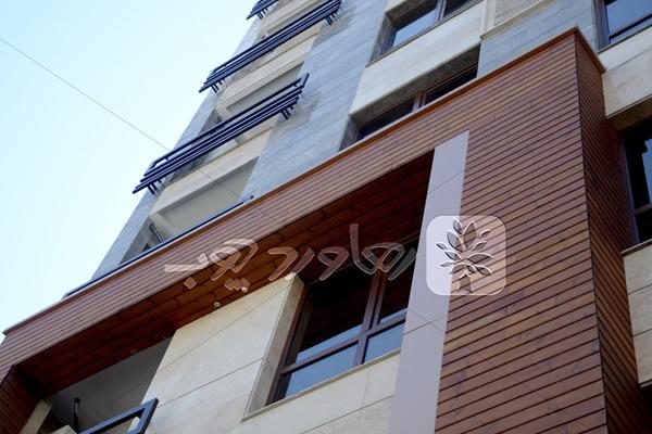 ترمووود در نمای ساختمان