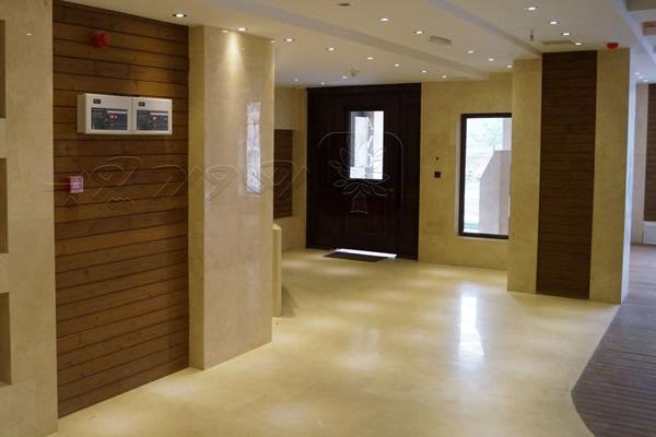 طراحی فضای داخلی ساختمان با چوب ترمو