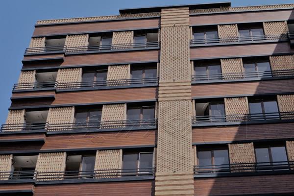 چوب ترمو برای نمای ساختمان