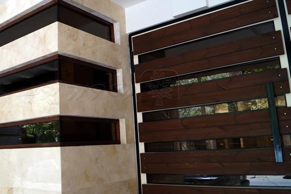 چوب ترمو نمای ساختمان