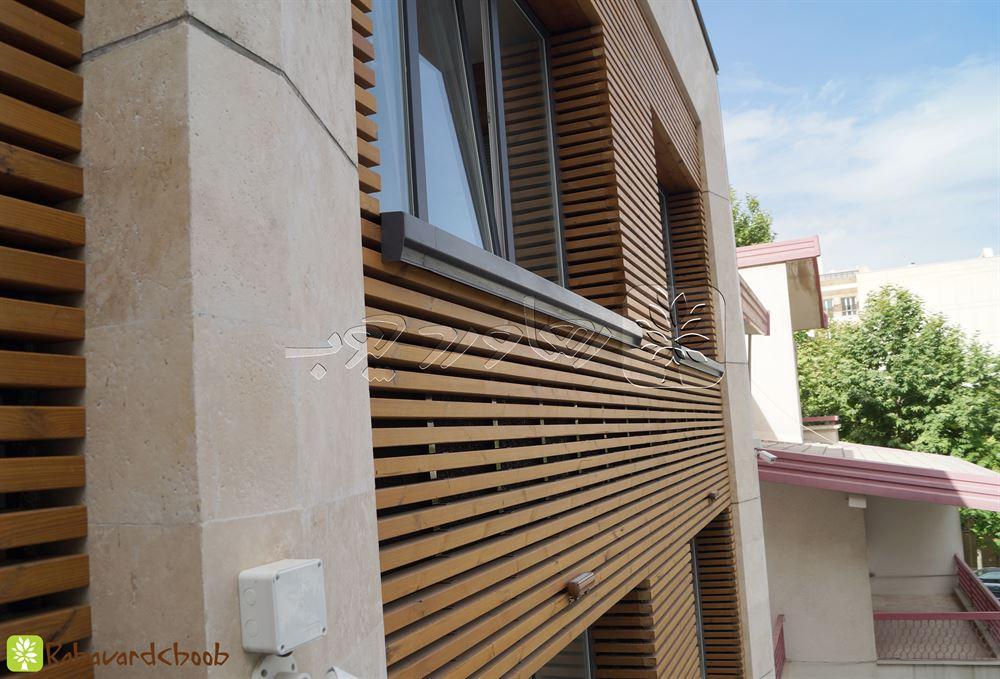 ولنجک و نمونه کار هایی از ترمووود در ساختمان