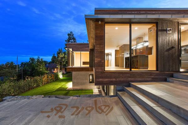 طراحی فضای خارجی خانه