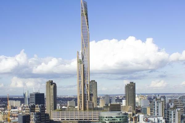 ده ساختمان بلند چوبی