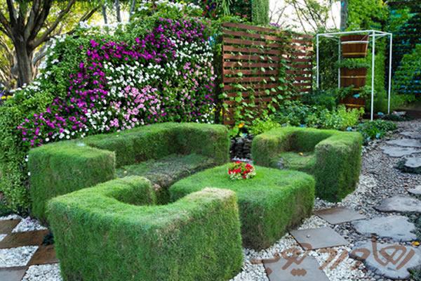 طراحی باغچه های کوچک پشت بامی