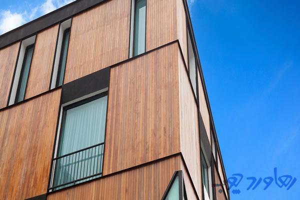 چوب نمای ساختمان چیست